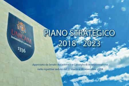 Copertina Piano strategico UNICAM
